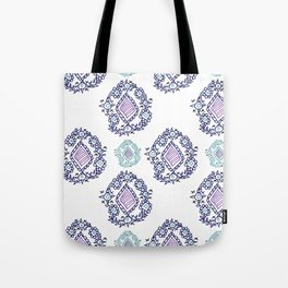 doodle ikat Tote Bag