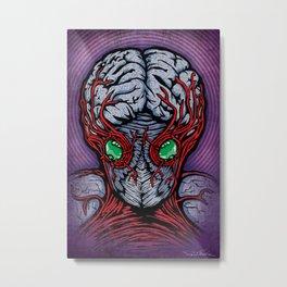 B-Movie Monster Part 1 Metal Print