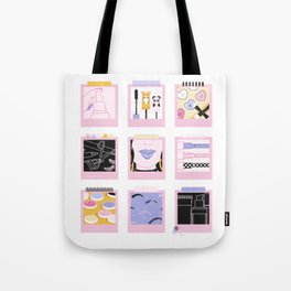Doll Up Tote Bag