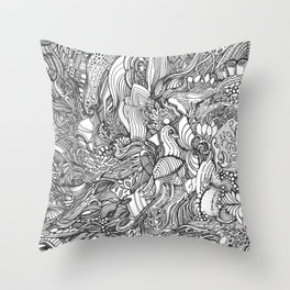 Wild Ideas Throw Pillow