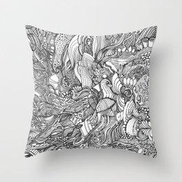 Wild Ideas Throw Pillow