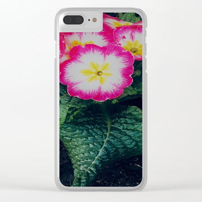 Spring time Clear iPhone Case