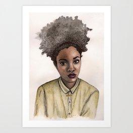 Afropunk Art Print