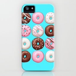 Donuts Party iPhone Case