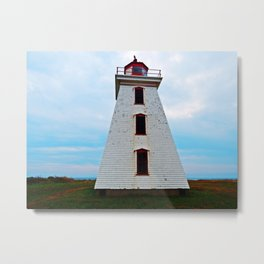 Lighthouse of Cape Egmont and the Strait Metal Print