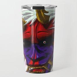 oni red demon Travel Mug