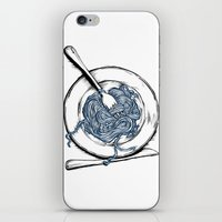 pasta iPhone & iPod Skins featuring Pasta!! by EGARCIGU