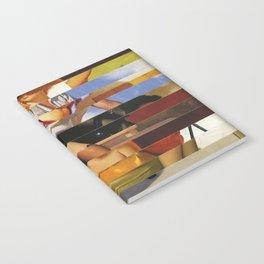 Glitch Pin-Up Redux: Heather Notebook