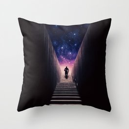 Portion of Infinite Throw Pillow