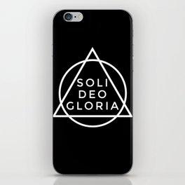 THE FIVE SOLAS: SOLI DEO GLORIA iPhone Skin
