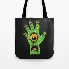 Finger Monsters Tote Bag