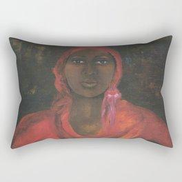 Ethiopian Girl Rectangular Pillow