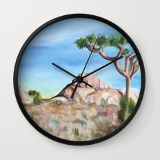 Desert Dreaming Wall Clock