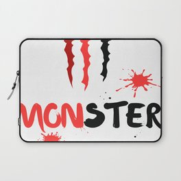 Ltd Edition:monster art Laptop Sleeve