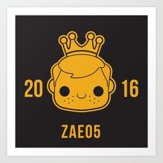 Zae05 (1) Art Print