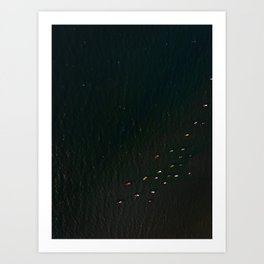 Fishing boats 2 Art Print