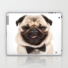 Helmut the Pug - Bow Tie Laptop & iPad Skin