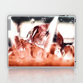 melting ice in a glass Laptop & iPad Skin