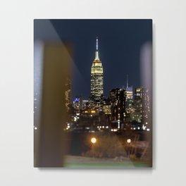 Art Deco Skyscraper, Tilt Shift, New York City Metal Print