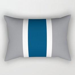 TEAM COLORS 10 ...GRAY ,NAVY Rectangular Pillow