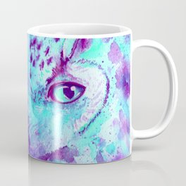 purple owl Coffee Mug