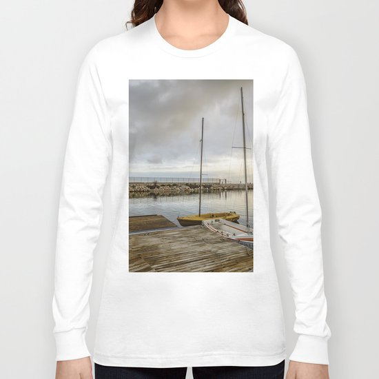 Sunrise on the marina Long Sleeve T-shirt