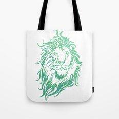 Green Lion Tote Bag