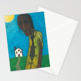 The junkie under the sun Stationery Cards