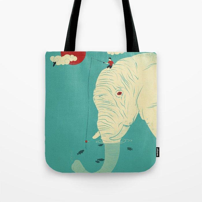 Fishin' Buddy Tote Bag