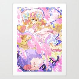 PokeLolita - Caitlin Art Print
