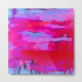 Pink Storm Metal Print
