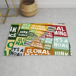 Global Warming Fraud Rug