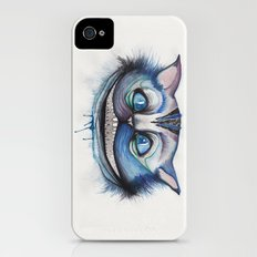 Cheshire Cat Grin - Alice in Wonderland Slim Case iPhone (4, 4s)
