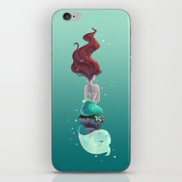 Wish I Could Be iPhone Skin