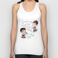 glee Tank Tops featuring The Sound Of Love by Sunshunes