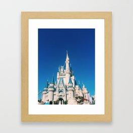 magic-kingdom Framed Art Print