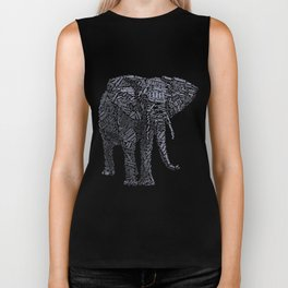 My Spirit Animal is an Elephant Biker Tank
