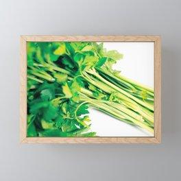 Parsley Framed Mini Art Print