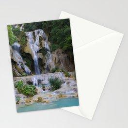 Kwang Si Waterfall, Luang Prabang, LAOS. Stationery Cards