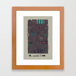 AFK Framed Art Print