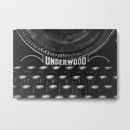Underwood II Metal Print