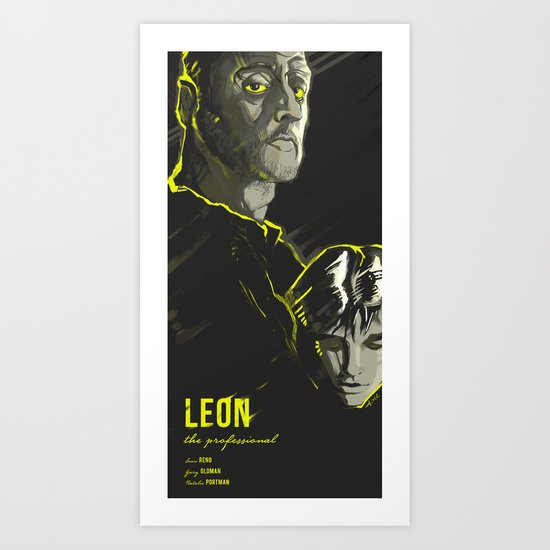 LEON: THE PROFESSIONAL Art Print
