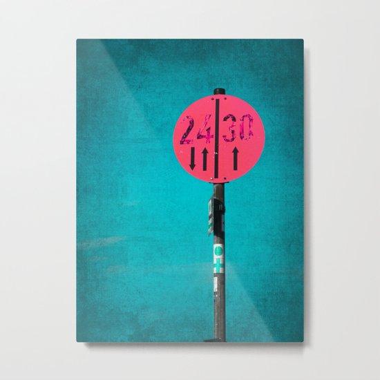 24|30 Metal Print