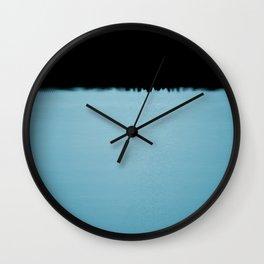 Black n Blue Wall Clock