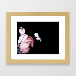 LOVE//EVOL Framed Art Print