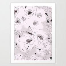 Cherry Flowers Art Print