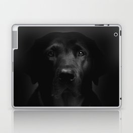 I met a girl (Black and white version) Laptop & iPad Skin