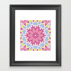 Kaleidoscope #2 Framed Art Print