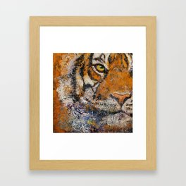 Royal Tiger Framed Art Print