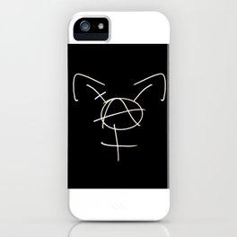 Tranarchy iPhone Case